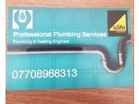 Qualified plumbing & heating engineer.
