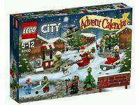 Lego City Advent Calendar 2016 #60133 brand new in sealed box