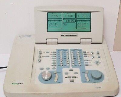 Welch Allyn Grason Stadler Gsi 61 Cllinical Audiometer 2 Channel 1761-97xx