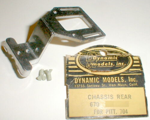 """DynaMite"" Rear Motor Carrier Chassis Dynamic for Pittman 704 Motors 1960s NOS"