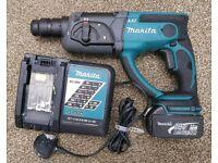 Makita 18v lxt sds three mode hammer drill