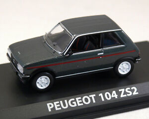 peugeot 104 gris m tallis 3 portes 1 43 ebay. Black Bedroom Furniture Sets. Home Design Ideas