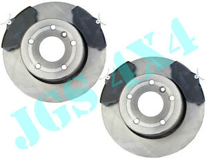 LAND ROVER DISCOVERY 2 TD5 & V8 FRONT BRAKE DISCS AND MINTEX BRAKE PADS KIT