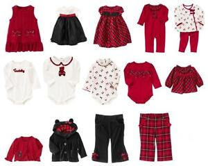 24m gymboree holiday traditions infant baby girl christmas winter
