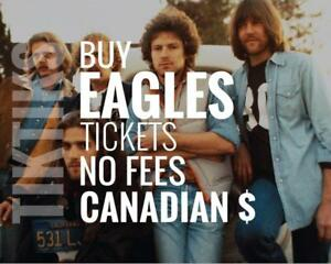 The Eagles Concert Tickets in Toronto, Regina, Edmonton, Calgary and Vancouver! We're like StubHub/Vivid but cheaper!