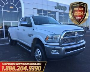 2014 Ram 3500 Laramie| Gas| Low KM| Leather| Sunroof| 4X4