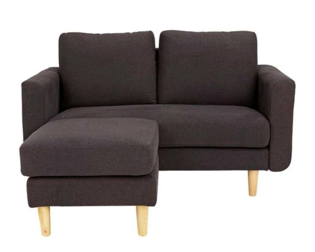 Marvelous Argos Home Remi 2 Seater Fabric Chaise In Leyton London Gumtree Bralicious Painted Fabric Chair Ideas Braliciousco