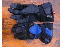 Hein Gericke Sheltex ladies motorbike gloves size small