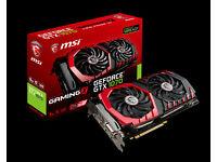 MSI GeForce GTX 1070 DirectX 12 GTX 1070 GAMING X 8G 8GB