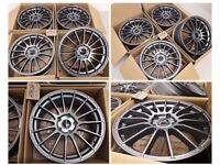 "L* 4X NEW 18"" INCH ALLOYS ALLOY WHEELS MULTISPOKE 5X108 FORD RENUALT VOLVO CITREON JAGUAR PEUGEOT"