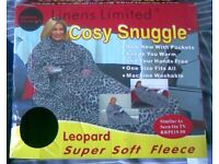 PINK SNUGGIE AND LEAPARD COSY SNUGGLE - BOTH NEW