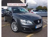 SEAT EXEO 2.0 CR TDI SE TECH 4d 141 BHP (grey) 2012