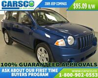 2009 Jeep Compass SPORT, LOCAL, TRACTION CONTROL $83.95 B/W*