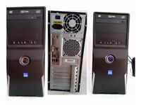 AMD A4-6300 Midi Tower System Windows 7 Home Premium 6 GB DDR3 Ram 700 GB Hard Drive