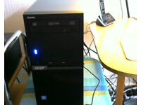 Boxes As New Acer PC And Acer 27 Inch Led Full HD HMDI & VGA LED Monitor