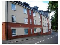 A Two Bedroom Furnished Flat With Parking And Communal Gardens in Kings Road, Johnstone (ACT87)