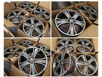 "HT952* NEW 22"" INCH ALLOYS ALLOY WHEELS GREY RANGE ROVER SPORT /VOGUE / DISCOVERY STORMER LANDMARK"