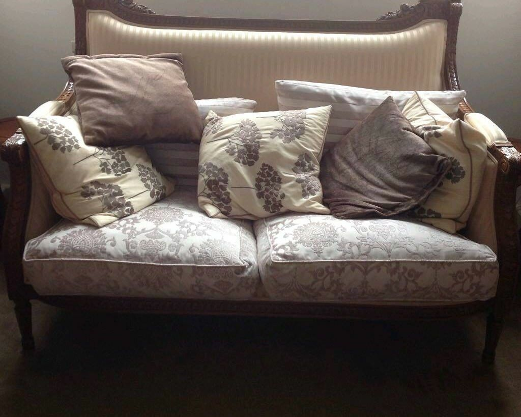 Classic Design Furniture London vintage classic designer carved suite. 3 seater, 2 seater sofa and arm  chair. free local delivery | in camberwell, london | gumtree
