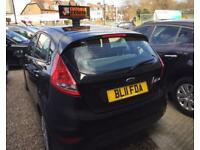 FORD FIESTA 1.4 EDGE TDCI 5d 69 BHP Apply for finance Online today! (black) 2011