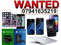 WANTED - I BUY ANY APPLE IPHONE IPAD Macbook AIR PRO 6S 6 PLUS 5S 5C 5 7
