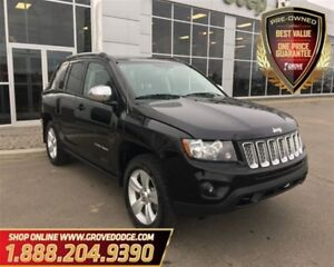 2016 Jeep Compass Sport| 4X4| Leather| Sunroof| Low KM