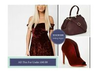 Dress Shoe & Handbag