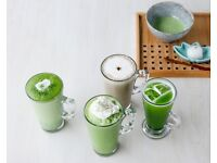Barista for stylish matcha cafe/restaurant in South Kensington