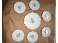 Wedgewood Susie Cooper Glen Mist 21 piece tea service