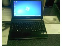 """SAMSUNG 10"""" Screen Laptop. Boxed little used. All original manuals etc £65"""