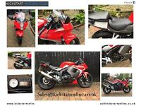 2016 hyosung gt125r mint bike 900 miles finance available