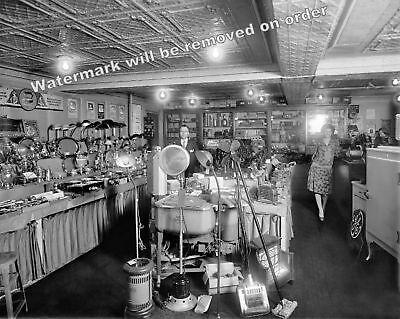 Photograph Schneider   Sons Electric Appliance Store Washington Dc 1929   8X10