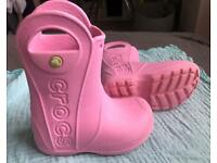 Toddler size 6 wellingtons