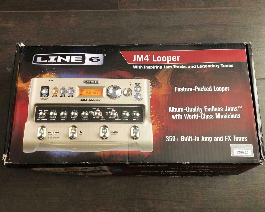 Line 6 JM4 Looper and Effects | in Summerston, Glasgow | Gumtree