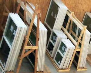 New stock is delivered every Tuesday, and you'll find 12 popular sizes of replacement windows. Doors and Windows.