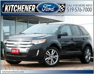 2014 Ford Edge SEL SEL/LEATHER/CAMERA/HTD SEATS/PANO ROOF & M...