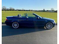 BMW 318 Convertible. FSH. New MOT.