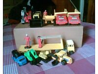 VINTAGE TOYS 1970's / 80's - DIE-CAST CONSTRUCTION VEHICLES - JOB LOT