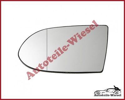für Opel Zafira A 99-02 View Max Außenspiegelglas Links Chrom Heizb
