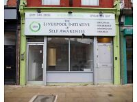 Self Contained Main Road Shop - Smithdown Road/Penny Lane