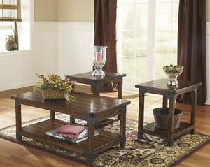 *** USED *** ASHLEY MURPHY COFFEE/END TABLES   S/N:51156805   #STORE533