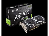 MSI NVIDIA GeForce GTX 1060 3GB ARMOR OC