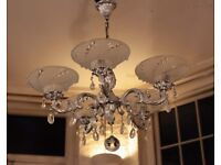 Vintage French Chandelier (5 candle)