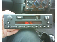 Rover 25 200 400 45 radio cassette player with head cleaning kit. Stereo, tape.