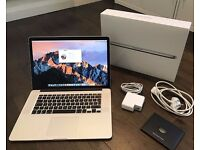 APPLE MACBOOK PRO RETINA 15 UNTIL 2014/15 2.8GHZ CORE I7 16GB 500GB SSD BOXED EXCELLENT