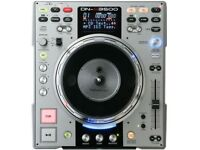 DENON DN-S3500 cd DJ deck with SAMPLER EFFECTS Moving PLATTER direct drive RARE classic 2 available