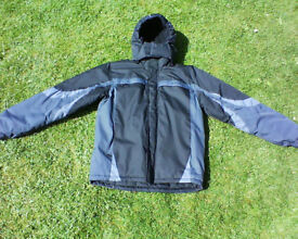 Gents winter jacket by Parallel, size small.