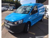 VOLKSWAGEN CADDY MAXI 1.6 C20 TDI 1d 101 BHP (blue) 2011