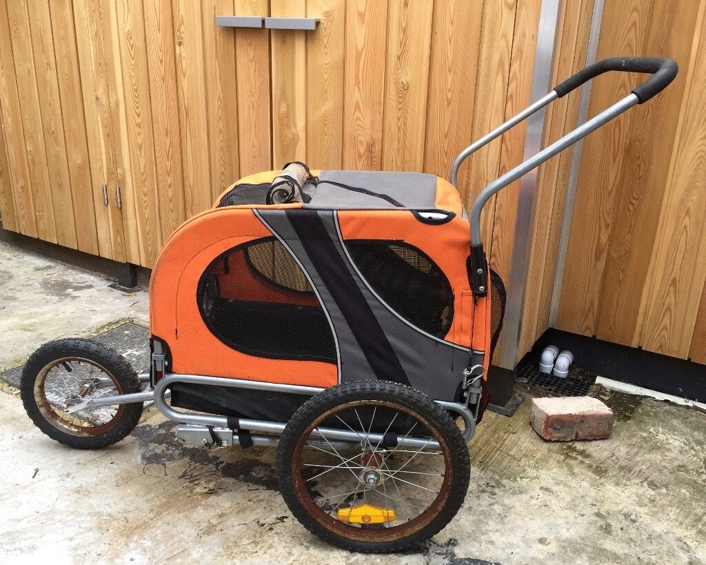 Doggyhut Dog Stroller Buggy Pushchair size Medium with ...