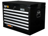 Halfords Industrial 6 Drawer Top Chest / Toolbox / Brand new