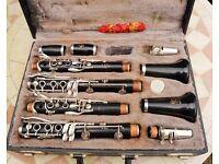 Pair of Boosey & Hawkes 'Emperor' clarinets